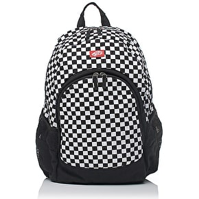 Vans Checkerboard Van Doren Backpack - White/Black